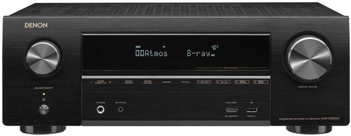 Denon AVR-X1500H, černá