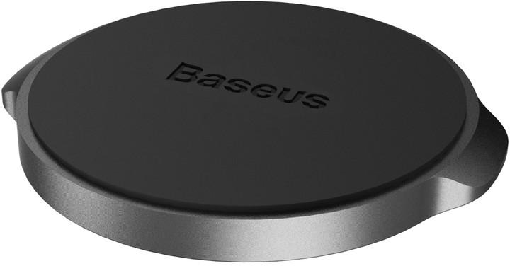 Baseus magnetický držák na telefon do auta Small Ears (Flat Type), černá