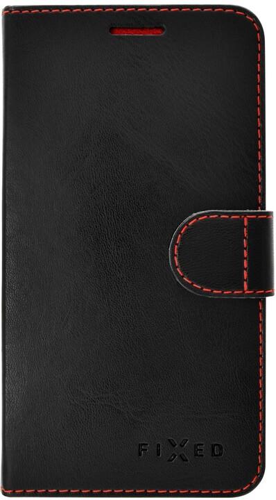 FIXED FIT flipové pouzdro pro Samsung Galaxy Xcover 4/4S, černá