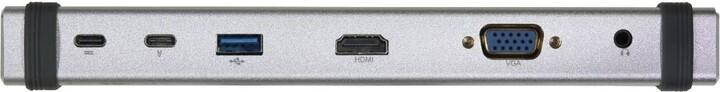 Evolveo USB-C MultiPort 1, 10Gbs, kovový