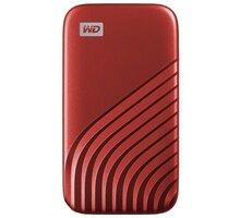 Western Digital My Passport - 1TB, červená - WDBAGF0010BRD-WESN