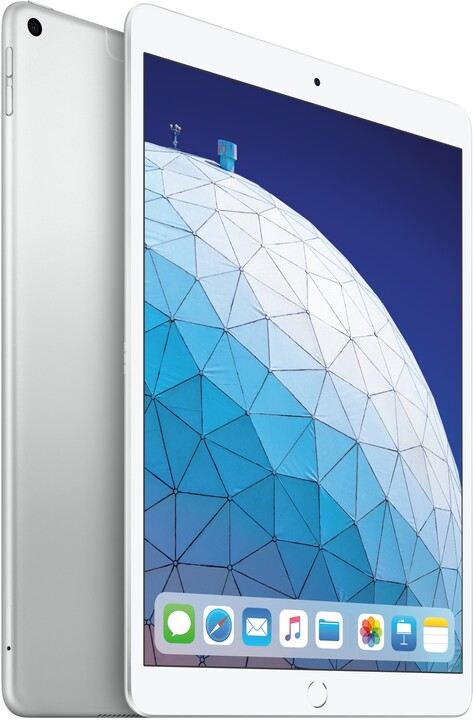 Apple iPad Air, 64GB, Wi-Fi + Cellular, stříbrná, 2019