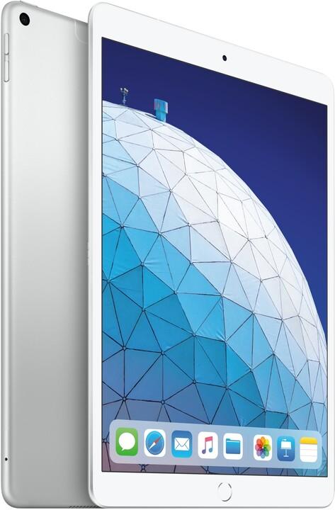 Apple iPad Air, 64GB, Wi-Fi + Cellular, stříbrná, 2019