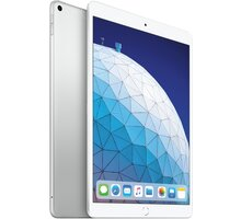 Apple iPad Air, 64GB, Wi-Fi + Cellular, stříbrná, 2019 - MV0E2FD/A