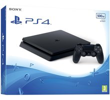PlayStation 4 Slim, 500GB, černá - PS719407775