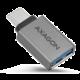 AXAGON RUCM-AFA, USB 3.1 Type-C Male > Type-A Female ALU redukce