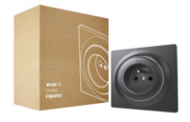 Fibaro Walli světelný stmívač, Z-Wave Plus, matný antracit