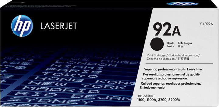 HP C4092A, černý