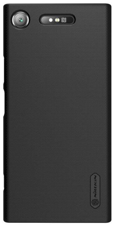 Nillkin Super Frosted Zadní Kryt pro Sony G8342 Xperia XZ1, Black