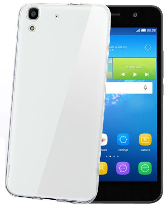 CELLY Gelskin pouzdro pro Huawei Y6, bezbarvá