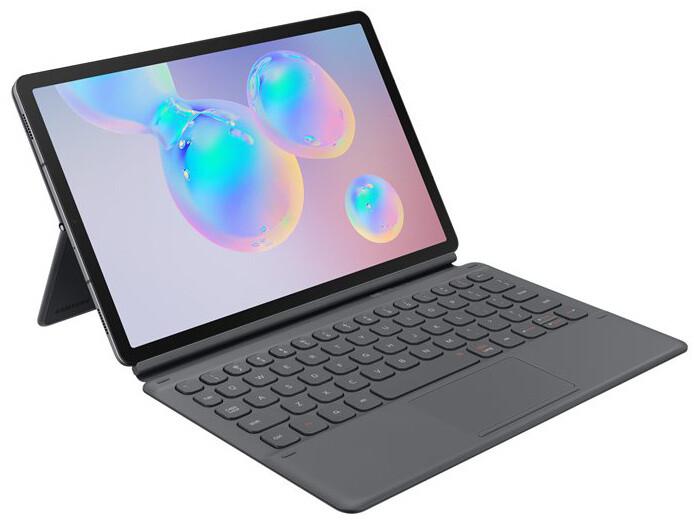 Samsung ochranný kryt s klávesnicí EF-DT860BJE pro Galaxy Tab S6, černá