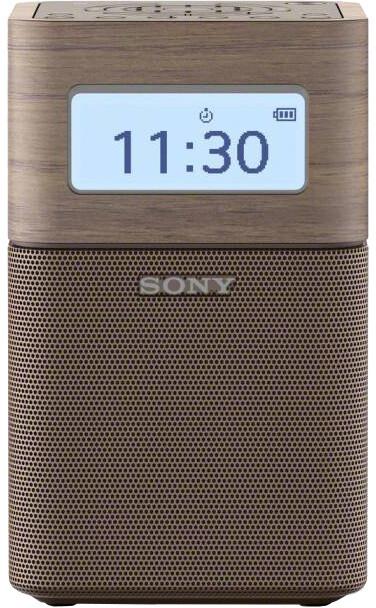 Sony SRF-V1BT, bluetooth, hnědá