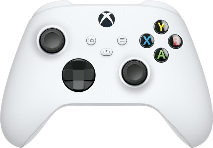 Xbox Series Bezdrátový ovladač, bílý (PC, Xbox Series, Xbox ONE)