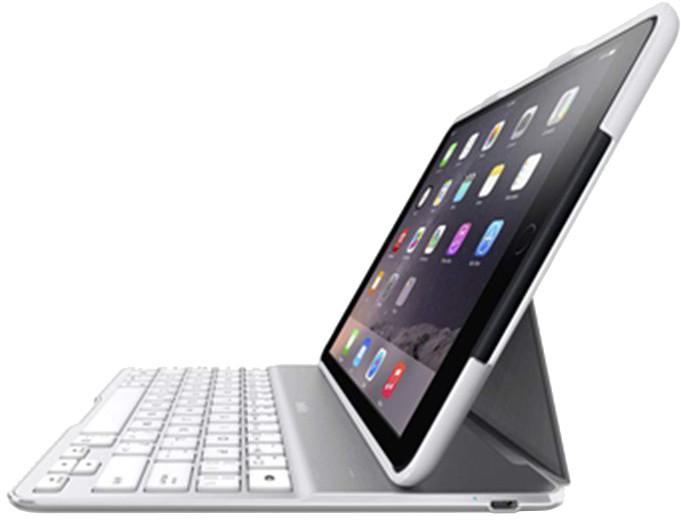 Belkin iPad Air 2 Bluetooth QODE™ Ultimate klávesnice, bílá