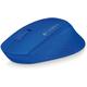 Logitech Wireless Mouse M280, modrá