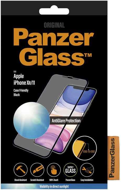 PanzerGlass Edge-to-Edge pro Apple iPhone 11/ Xr, černá