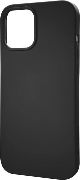 """Tactical silikonový kryt Velvet Smoothie pro iPhone 12/12 Pro (6.1""""), černá"""