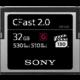 Sony G Series CFast 2.0 - 32GB  + Voucher až na 3 měsíce HBO GO jako dárek (max 1 ks na objednávku)
