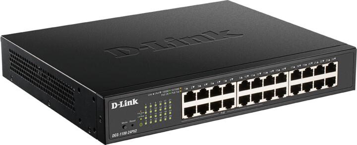 D-Link DGS-1100-24PV2, NBD