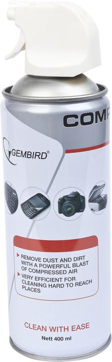 Gembird stlačený vzduch CK-CAD2 400ml