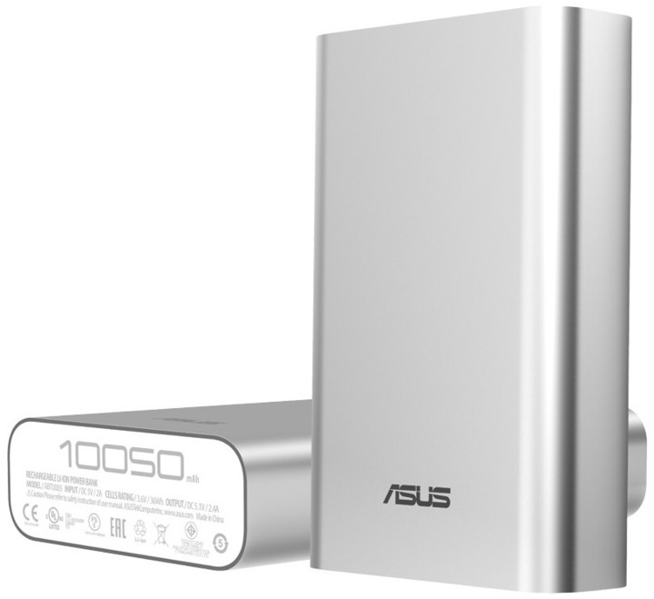 ASUS ZenPower 10050 mAh, stříbrná