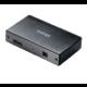 Akasa Connect 4SV, USB Hub 4x, hliník, černá