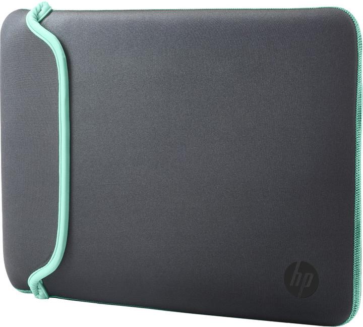 "HP 15,6"" Pouzdro Neoprene Sleeve šedá / zelená"