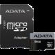 ADATA Micro SDXC Premier Pro 64GB 95MB/s UHS-I U3 + SD adaptér