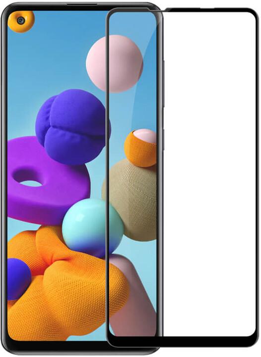 Nillkin tvrzené sklo CP+ PRO pro Samsung Galaxy A21s, 2.5D, černá