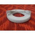 Solarix Patch plochý (cat5e) UTP, šedý, 7m