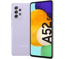 Samsung Galaxy A52 5G, 6GB/128GB, Awesome Violet - SM-A526BLVDEUE + Antivir Bitdefender Mobile Security for Android 2020, 1 zařízení, 12 měsíců v hodnotě 299 Kč