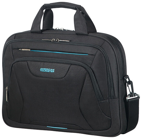 "American Tourister AT WORK LAPTOP BAG 15.6"" Black"