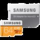 Samsung Micro SDXC 64GB EVO UHS-I U3 + SD adaptér  + Voucher až na 3 měsíce HBO GO jako dárek (max 1 ks na objednávku)