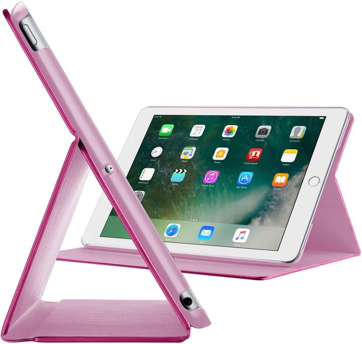 """CellularLine Pouzdro se stojánkem FOLIO pro Apple iPad 9,7"""" (2018), růžové"""