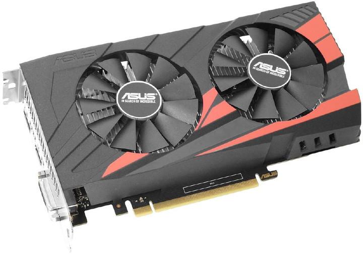 ASUS GeForce GTX 1050 EX-GTX1050-2G, 2GB GDDR5