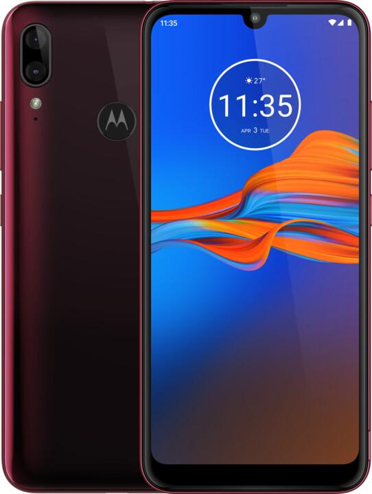 Motorola Moto E6 Plus, 4GB/64GB, Cranberry