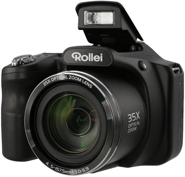 Rollei Powerflex 350, černá