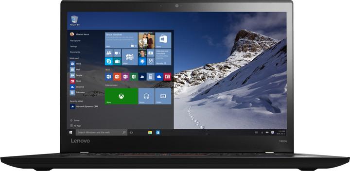 Lenovo ThinkPad T460s, černá