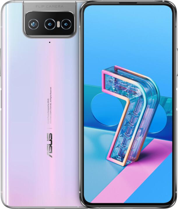 Asus Zenfone 7, 8GB/128GB, Pastel White