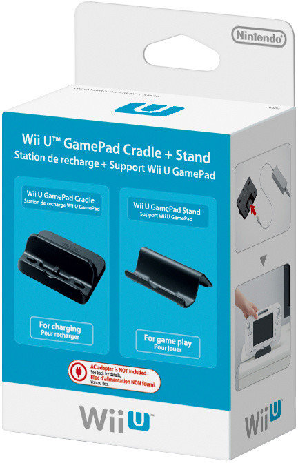 WiiU - GamePad Cradle + Stand