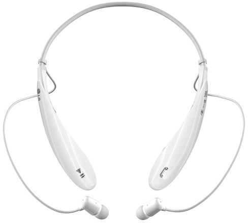LG HBS-800 Tone Ultra, bílá