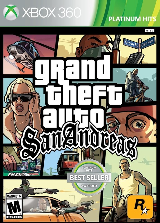 Grand Theft Auto: San Andreas - X360