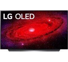 LG OLED48CX - 121cm LG HBS-FN6, špunty, bezdrátová, mikrofon, bílá v hodnotě 3 490 Kč + O2 TV Sport Pack na 3 měsíce (max. 1x na objednávku)