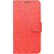 FIXED FIT pouzdro typu kniha pro Samsung Galaxy J4+, motiv Red Mesh