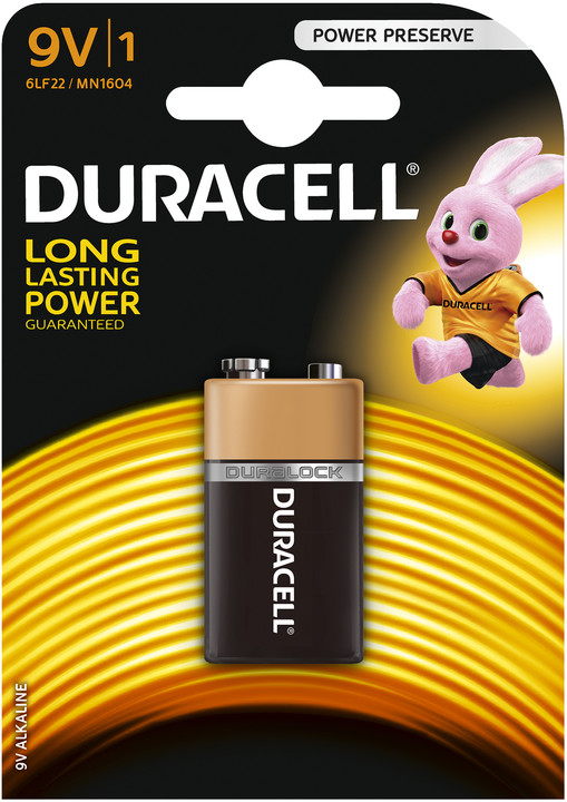 Duracell Basic MN1604 9V, 1ks