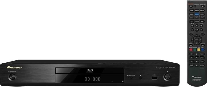 Pioneer BDP-180- K, 3D, černá