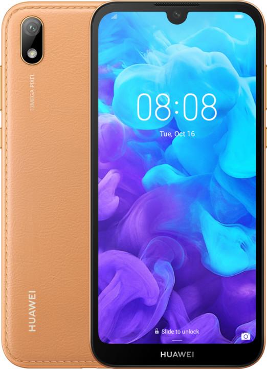 Huawei Y5 2019, 2GB/16GB, hnědá