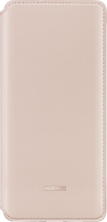 Huawei Original Wallet pouzdro pro P30 Pro, růžová