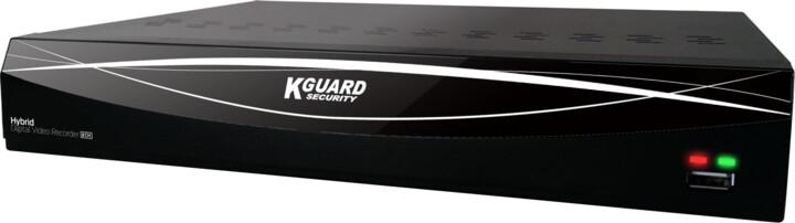 KGUARD hybridní rekordér HD881, 4+2 (CCTV+IP) kanálový