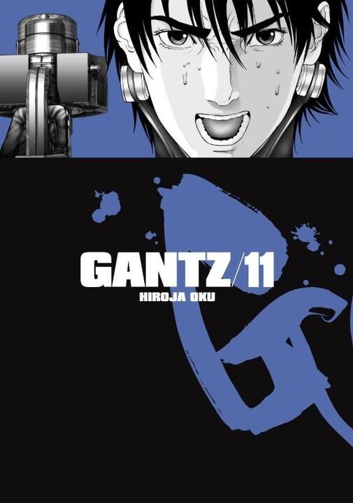 Komiks Gantz, 11.díl, manga